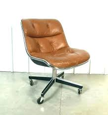 west elm office chair. Brown Leather Office Chair Mid Century Danish West Elm