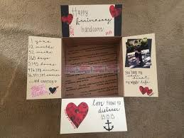 diy 1 year anniversary gifts for boyfriend found this awesome care package decoration on instagram