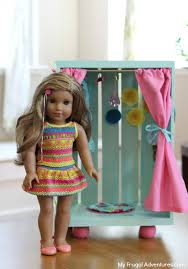 diy american girl doll closet