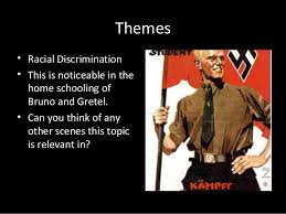 boy in the striped pyjamas synopsis and themes themes • racial discrimination