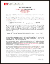 Contract Bid Proposal Contractor Bid Sheet Template And Bid Proposal Template 6 Formal