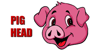 1280x720 how to draw a pig head