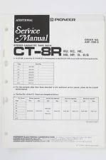 pioneer ct 8 pioneer ct 8r arp 096 tape deck additional service manual wiring diagram