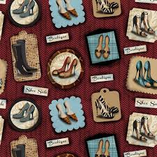61 best BEAUTIFUL QUILT FABRIC.COM images on Pinterest | Quilting ... & Shoe Fabric Spx Fabrics Sassy Shoes shoes squares 3447 Adamdwight.com