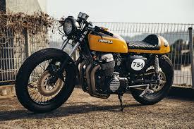 julian s honda cb750 cafe racer throttle roll