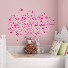 >twinkle twinkle little star wall sticker choice image home design  2017 twinkle twinkle little star letter pattern wall stickers for 22 best baby bedroom images on pinterest baby bedroom baby room