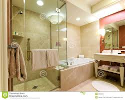 Luxury Hotel Bathroom Stock Photo Image
