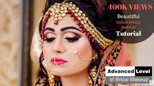 advanced bridal makeup by shweta gaur at shweta gaur makeup artist and academy