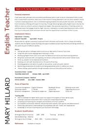 Sample Teacher Resume Format Examples Of Resumes For Education Jobs