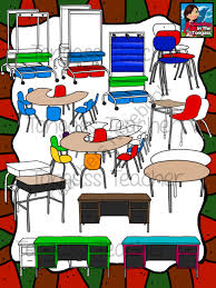 classroom chairs clipart. Exellent Clipart Classroom Furniture Clipart Bundle From Tongassteacher On  TeachersNotebookcom  21 Pages This 21 Piece Clipart Bundle Features A Huge Variety Of  To Chairs O