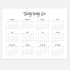 These free june calendars are.pdf or.jpg files that disclosure: 2021 Printable Landscape Desk Calendar 2021 Year Wall Calendars 2021 Year Planners Digital Download Calendar Printables Calendar 2021 Printable Calendar