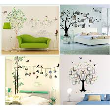 extra large 250 180cm photo frame tree family picture diy removable art vinyl wall stickers decor mural decal living room decals for bedrooms decals for