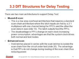 Dream Catcher Consulting Sdn Bhd Fascinating ME322 DESIGN FOR TESTABILITY [Slide 32] DfT Structures For Delay