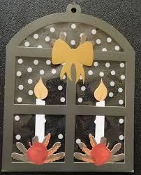 Weihnachts Fensterdeko Fenster Folie Mit Kerzen 36 Cm