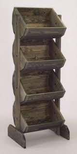 Wooden Fruit Display Stands Extraordinary Wooden Fruit Display Stands Tiered Crate Display Produce Display