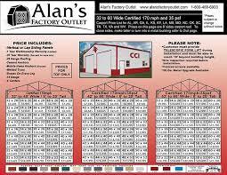 32 to 60 wide carportetal buildings page 1