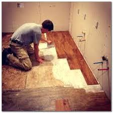 how to install vinyl plank flooring over tile installing floating vinyl plank flooring over tile how