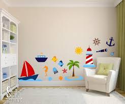 summer wall graphics fabric wall decal