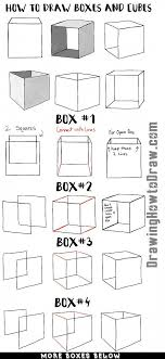 learn how to draw bo and cubes and shade them with easy step by step drawing lesson