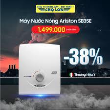 ▪️ Máy Nước Nóng ARISTON SB35E giảm 38%... - Siêu Thị Điện Máy - Nội Thất  Chợ Lớn