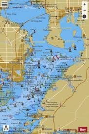Tampa Bay Marine Chart Tampa Bay Northern Section Marine Chart Us11416_p2983