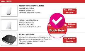 Rent A Book Online Free Pocket Wifi Rental Procedure Pocket Wifi Korea