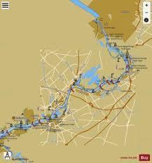 Delaware River Philadelphia To Trenton Main Panel Marine