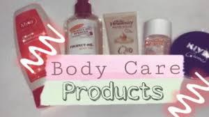 Body Care Products   Myra, Palmer's, Oh So Heavenly, Bio Oil , & Nivea -  YouTube