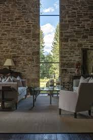 stone wall raked recessed lighting knightsbridge. Rustic Stone And Timber Dwelling Overlooking The Grand Tetons Wall Raked Recessed Lighting Knightsbridge H