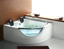 decoration 2 person jetted bathtub bath corner jacuzzi tub within designs 14