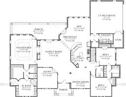 house plan 3000 sq ft plans 2 story luxihome 1 wrap around porch