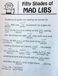 fifty shades of grey mad libs you can your mother open gallery prev 1 3 next