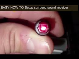 easy how to setup surround sound receiver