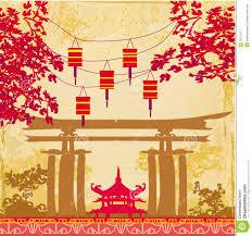 Chinese New Year Card Chinese New Year Card Chinese New Year Card Traditional Lanterns