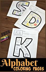 Print english letters for coloring, so that your child learns the language faster! Free Alphabet Coloring Pages