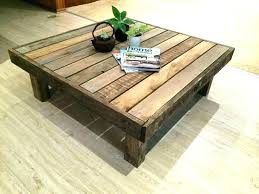 coffee table patio clearance round distance