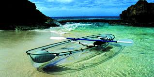 Transparent Canoe Kayak The Molokini A Transparent Ocean Kayak So Genius We Wish Wed
