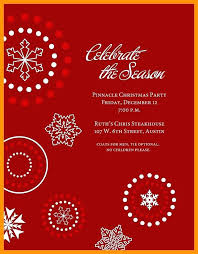 Holiday Templates For Word Free Christmas Party Invite Template Word Free Festival Collections