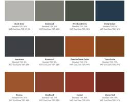 Roof Colour Chart