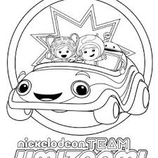 Small Picture Geo from Team Umizoomi Coloring Page Color Luna