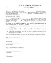 Agreement Letter For Loan Impressive Free Employee Loan Agreement Template Free Loan Agreement Whats