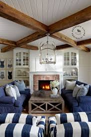 nautical living room furniture. nautical blue and white slipcover living room furniture