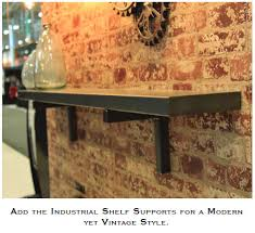 the industrial trend and contemporary metal finishes are hot today in home design but you may have found the choices in mantel shelves to be somewhat