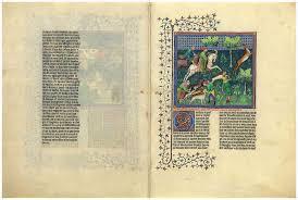 MS M.1044, fols. 58v–59r | Livre de la chasse | The Morgan Library ...