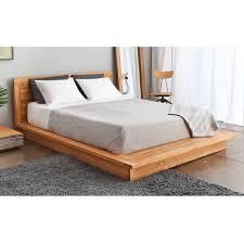 pch series solid teak wood platform bed