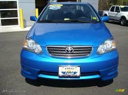 2007 Speedway Blue Metallic Toyota Corolla S #27544092 Photo #9 ...
