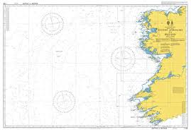 Admiralty Chart 1125 Western Approaches To Ireland