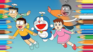 In this video, children will learn how to paint and color doraemon easy. Doraemon Coloring Pages For Kids Coloring Book For Children Youtube