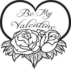 Small Picture Be Mine Valentine Coloring Pages GetColoringPagescom