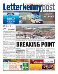 Letterkenny Post 18 01 2018 By River Media Newspapers Issuu